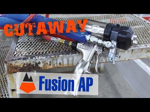 Graco Fusion AP Air Purge Spray Gun  YouTube
