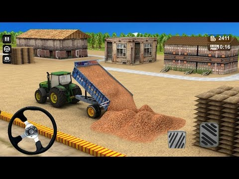 Real Tractor Farming Simulator 2018 (by LagFly) Android Gameplay [HD]