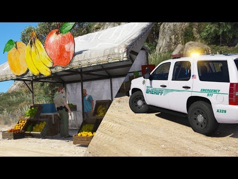 LSPDFR - Day 698 - Selling fruit without a license