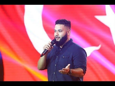 Ozulusal Taylan, un turc pe scena iUmor! Prestaţia lui l-a consternat pe Bendeac