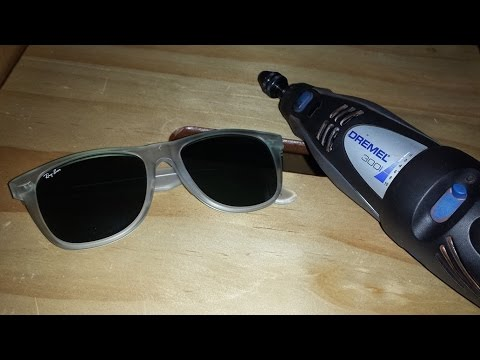 broken ray ban sunglasses  How To Remove a Broken Hinge Screw From Vintage B\u0026L Ray-Ban ...