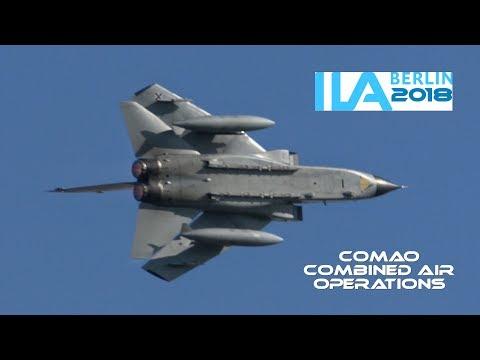 4K / GAF Eurofighter & Tornado IDS/ECR - Combined Air Operations (COMAO) @ ILA Berlin 2018