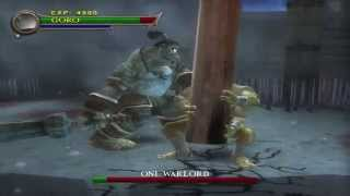 Mortal Kombat Shaolin Monks Play as Goro vs Oni Warlord