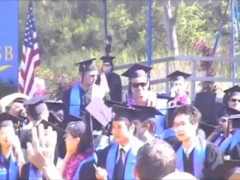 UCSB Graduation 2006 -the first step, on the path of a blessed man