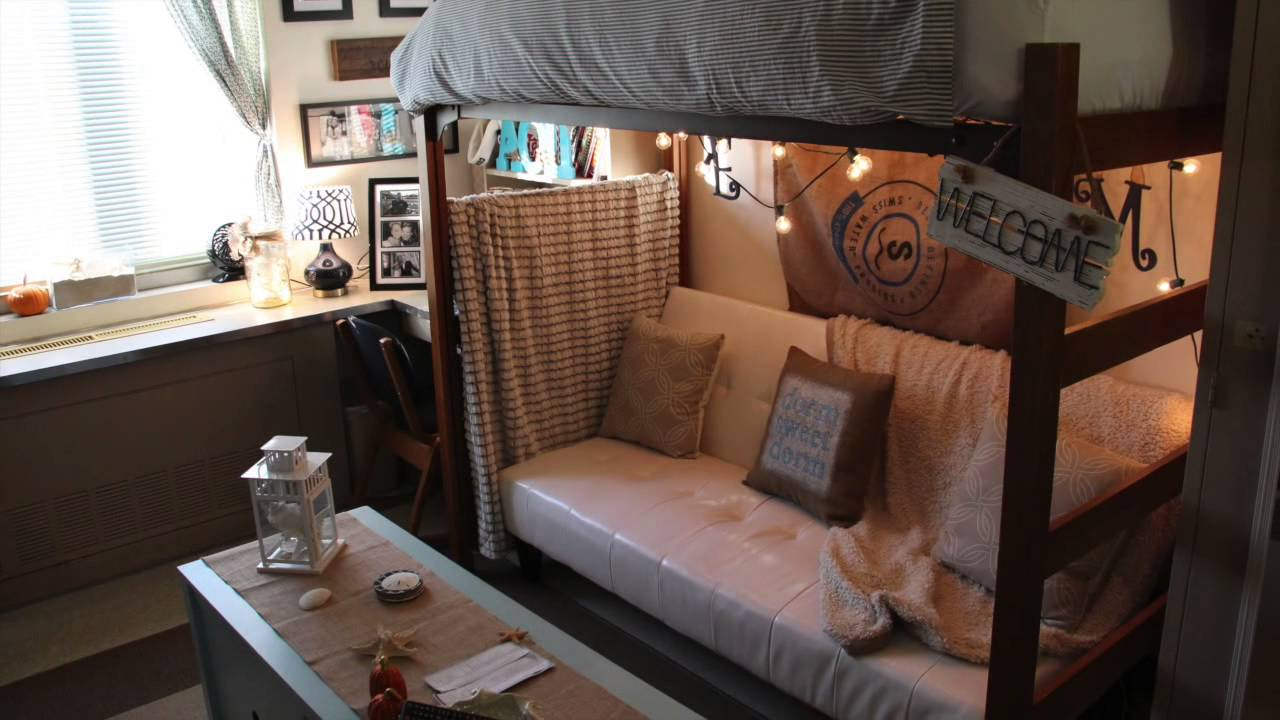 UGA Dorm Tour: Room Of The Year Finalists   YouTube