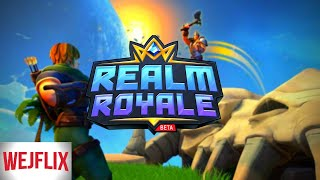 Fantasy Fortnite (With Guns for Some Reason) - Will and Emily Play Realm Royale