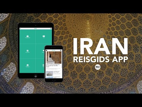 Iran Reisgids App - Introductie  Video | REiSREPORT