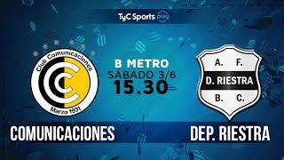 CSD Comunicaciones vs Deportivo Riestra full match