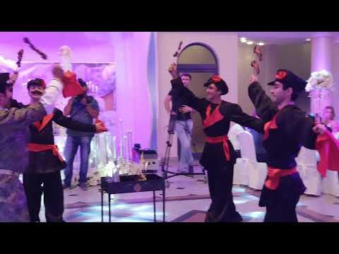 Танец шашлыка на армянской свадьбе.