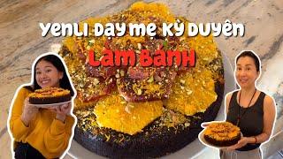 Yenli Dạy Mẹ Nguyễn Cao Kỳ Duyên Làm Bánh | Blood Orange Cake