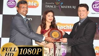 madhuri dixit hot at launch of new videocon d2h channel event   full show