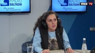 Российская актриса Мария Шумакова в программе