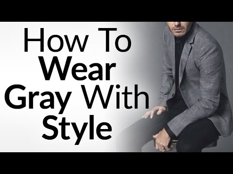4 Tips On Wearing Gray With Style | Grey In Interchangeable Wardrobe | Matching Gray Clothes