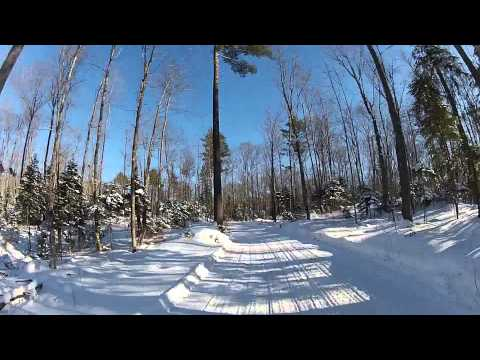 Minocqua WI, Snowmobile Trails.