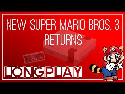 NEW Super Mario Bros. 3 Returns • Super Mario Bros. 3 ROM Hack (Longplay)