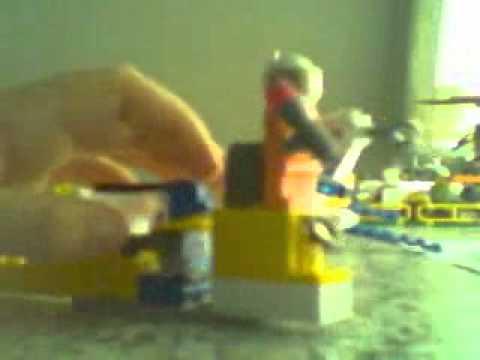 Lego Agents-La poursuite en jet-aérien
