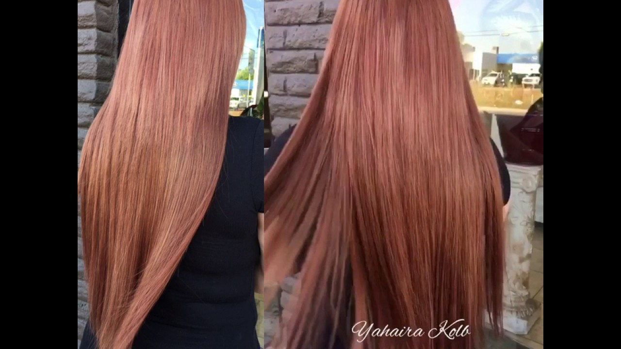 24 Extensions Cognac Hair Color Youtube