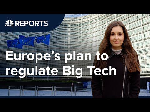 Why the EU is getting tough on Big Tech   CNBC Reports