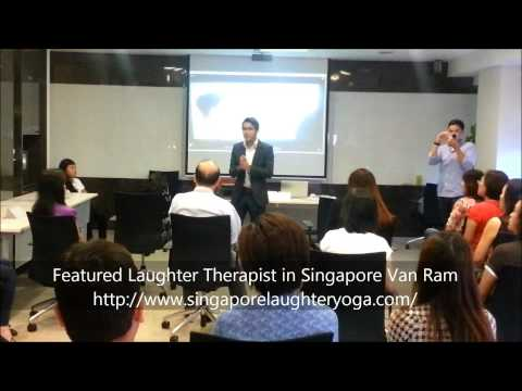 Singapore Laughter Yoga - Feature Laughter Therapist Van Ram - http://www.singaporelaughteryoga.com/