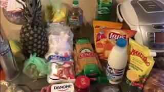 Покупка продуктов в магазине Пятерочка