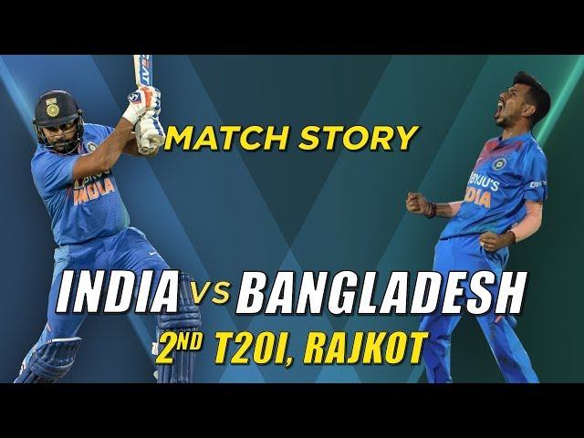 India v Bangladesh, 2nd T20I, Match Story: The Rohit Sharma Show