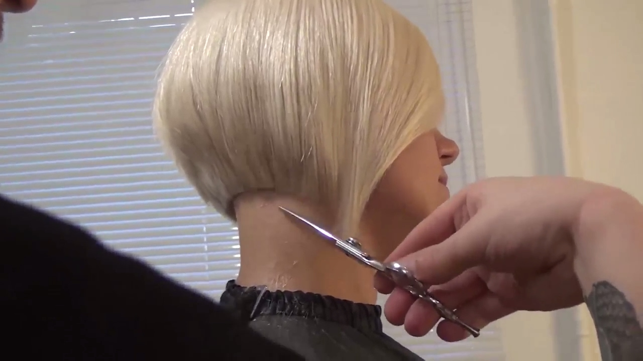Hairdresser Education Bob Haircut Step By Step Hairstyle Tutorial
