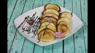 Оладушки на кефире на завтрак
