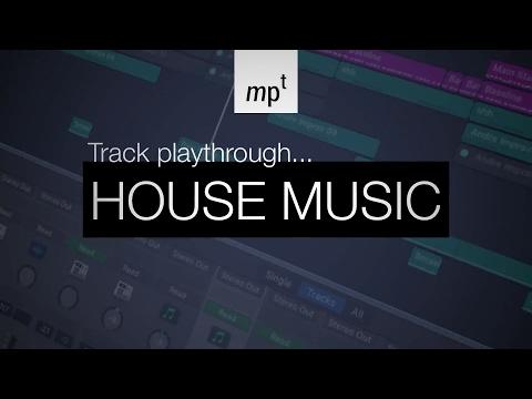 Logic Pro X – House Music – Track Playthrough – Redlight Remix