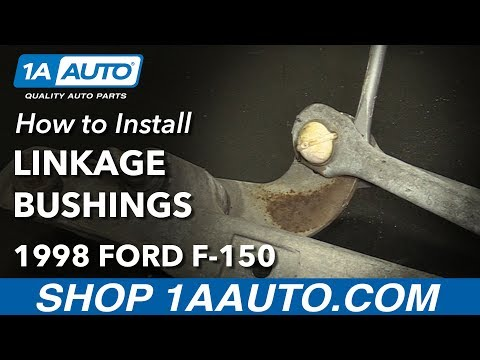 How to Install Replace Windshield Wiper Transmission Linkage Bushings 1997-03 Ford F 150