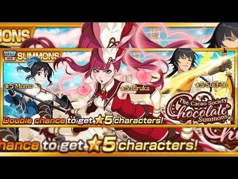 Bleach Brave Souls: Summons Cacao Society chocolate gameplay!!! Riruka, Soi Fon e Momo!!! - Omega Play