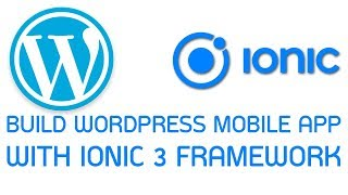Wordpress Ionic App #3 Add provider for fetch data from wp-json Mp3