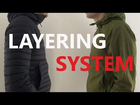 My Layering System For Backpacking