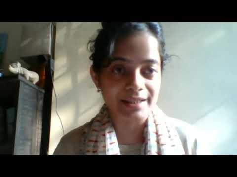 Shrishtee Bajpai at the Global Gathering for Mother Earth Laws