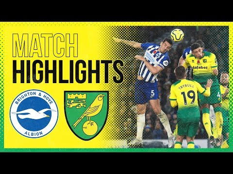 HIGHLIGHTS | Brighton & Hove Albion 2-0 Norwich City