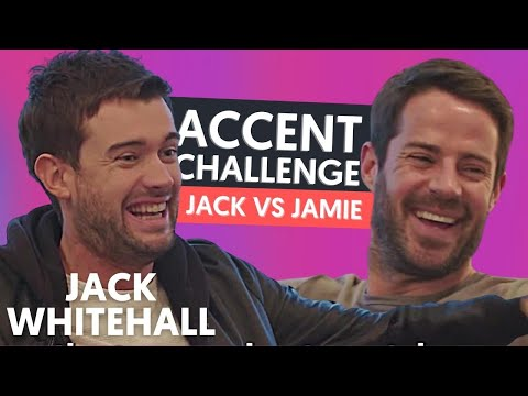 Jack Whitehall & Lloyd Griffith AMAZED By Jamie Redknapp's Accents!! | Accent Challenge