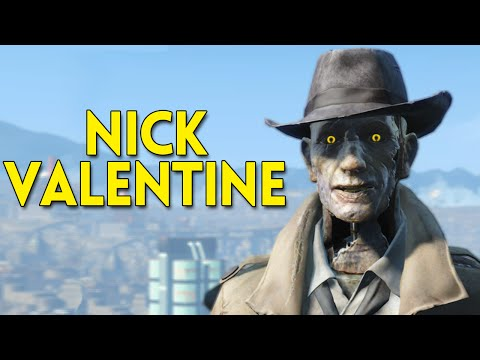 Fallout 4 Nick Valentine - All Conversations + Sidequest