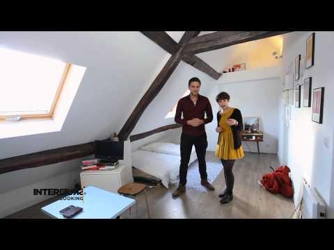 Relooking : un studio vintage sous les toits