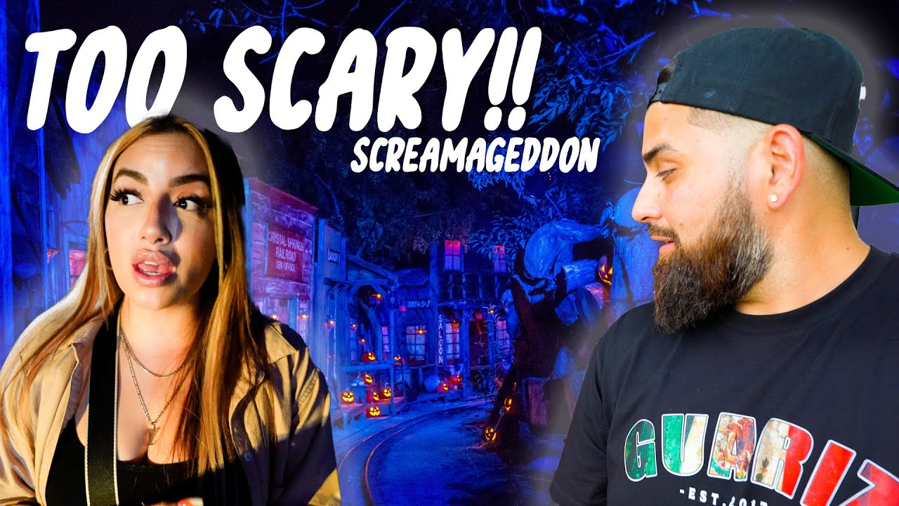 VISITING THE SCARIEST PARK IN THE USA!