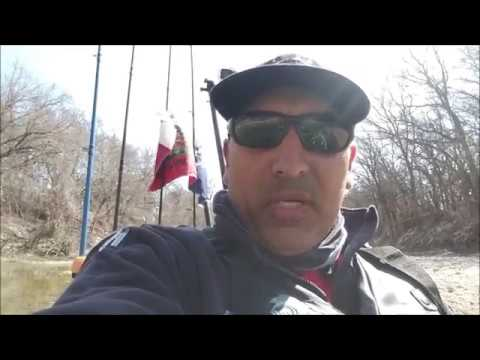 Kayak fly fishing in blue creek water youtube for Blue creek fishing report