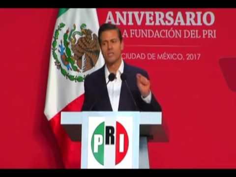 Enrique Peña Nieto encabeza los festejos por el 88 aniversario del PRI 1