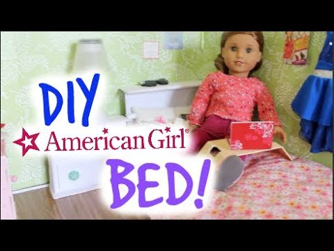 DIY American Girl Doll Bed!