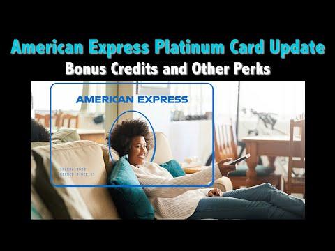 {QUICK TIP} American Express Adds BONUS Perks To Platinum Card