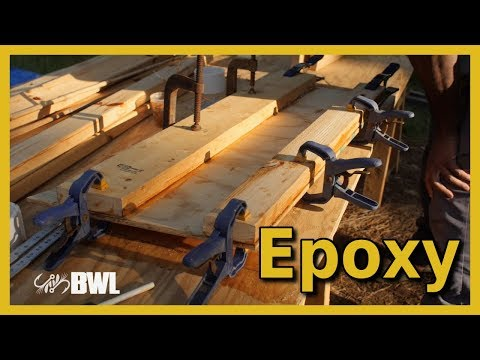 Transom Epoxy | Thai Longtail Boat Plans