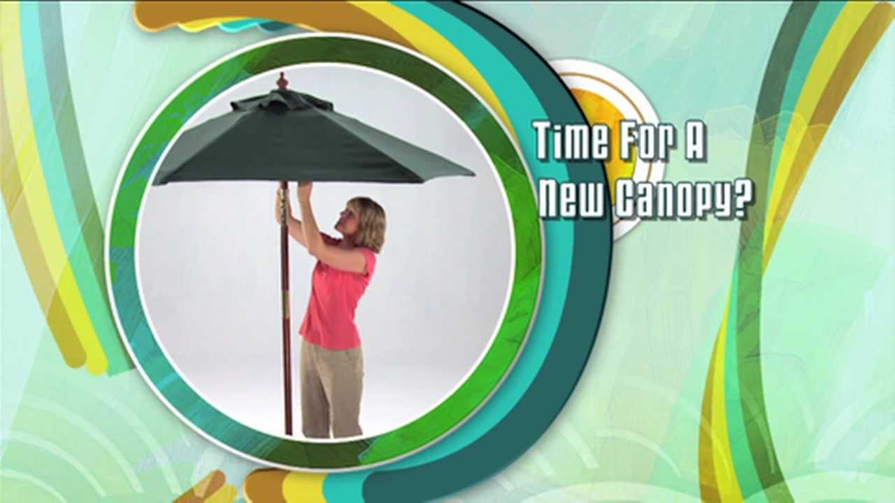 Patio Umbrella Replacement & Patio Umbrella Replacement - YouTube