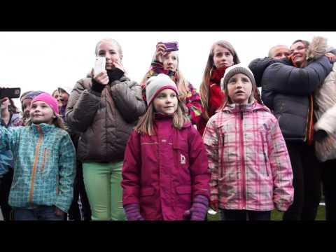 Sommerfesten med TV Norge i Honningsvåg 2012.