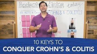 10 Toetsen om te Veroveren de ziekte van Crohn & Colitis