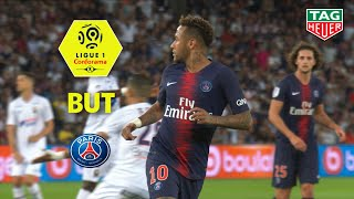 But NEYMAR JR (10') / Paris Saint-Germain - SM Caen (3-0)  (PARIS-SMC) / 2018-19