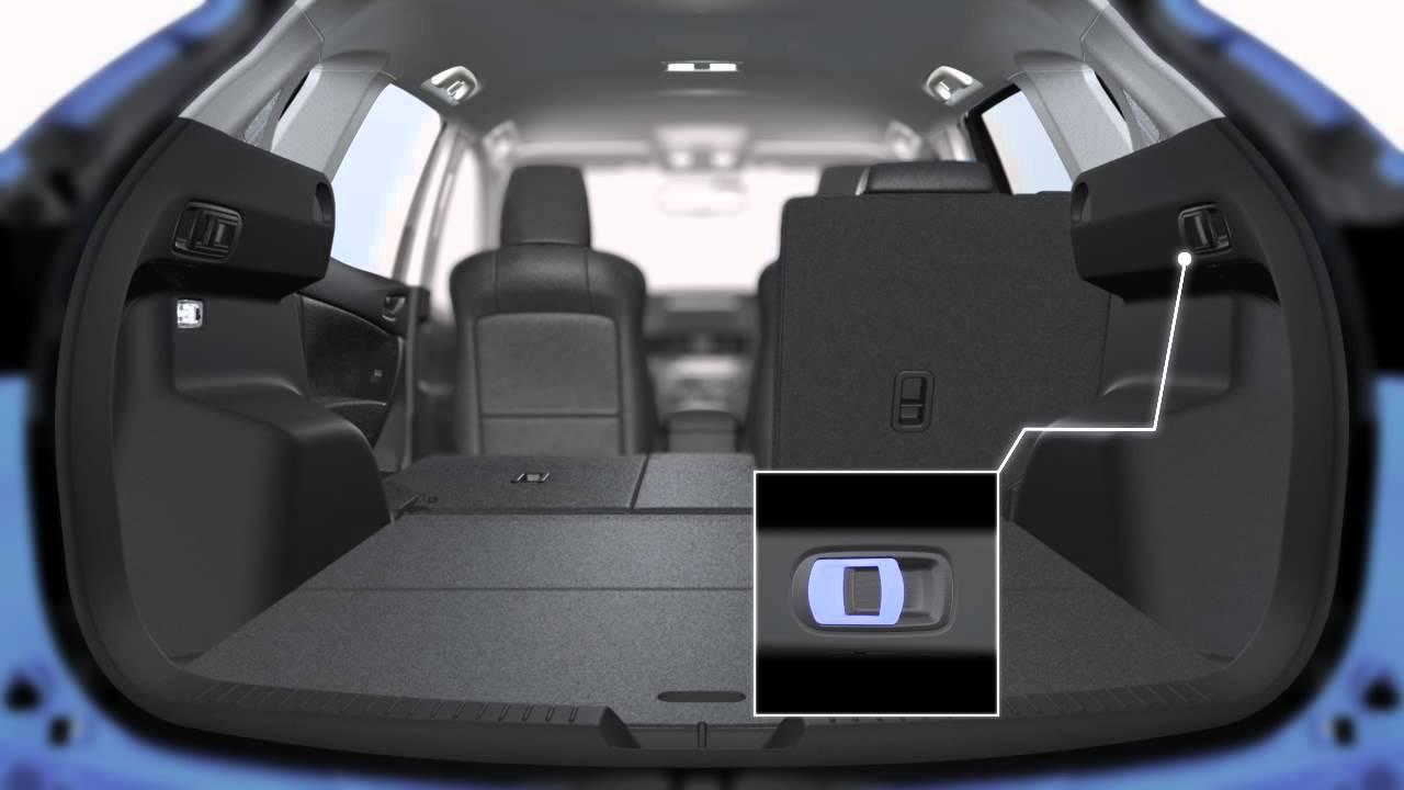 Mazda Cx 5 Składanie Tylnej Kanapy Youtube