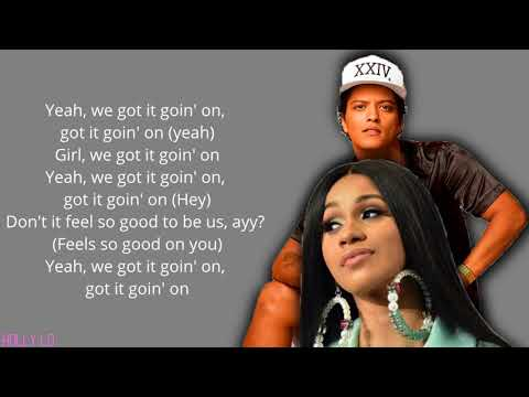 Bruno Mars & Cardi B - Finesse [Remix] (with LYRICS)