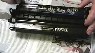 заправка картриджа Panasonic KX FAD412